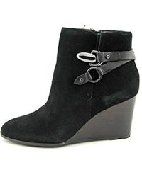 Tahari - Simon Suede Ankle Boot - Lyst