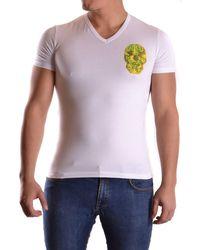 John Galliano - Men's White Cotton T-shirt - Lyst