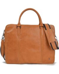 TERRACOMO New York - Curtis Top Zip Briefcase - Lyst
