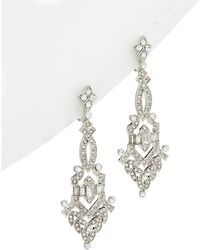 Carolee | Wall Street Crystal Drop Earrings | Lyst