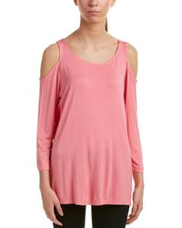 NYDJ - Cold-shoulder T-shirt - Lyst