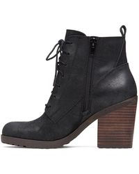 Lucky Brand | Womens Orsander Closed Toe Ankle Fashion Boots, Sesame, Size 7.5 | Lyst