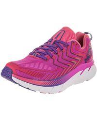 Hoka One One - Women's Clifton 4 Running Shoe - Lyst