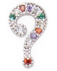 Marc By Marc Jacobs - Jewelry Crystal Question Mark Studs - Lyst