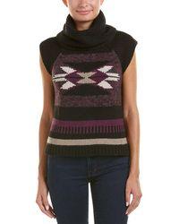 Autumn Cashmere - Cashmere & Wool-blend Vest - Lyst