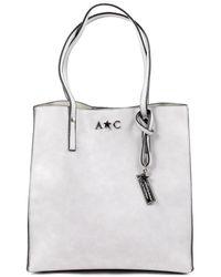 Andrew Charles by Andy Hilfiger - Andrew Charles Womens Handbag Light Grey Serina - Lyst