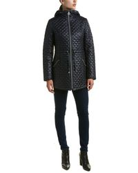 Laundry by Shelli Segal - Quilted Coat - Lyst