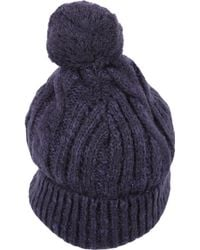 Scotch & Soda - Women's Blue Cotton Hat - Lyst