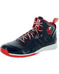 2a5ca0536baa Lyst - Adidas Men s D Howard 5 Basketball Shoe in Blue for Men