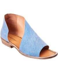 Free People - Denim Mont Blanc Sandal - Lyst