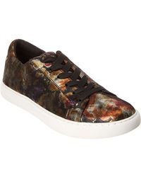 Kenneth Cole - New York Kam Leather Trainer - Lyst