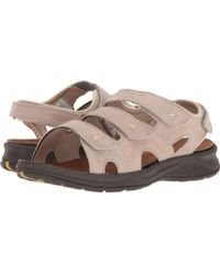 1c999a9e8 Drew - Shoe Womens Bayou Open Toe Casual Strappy Sandals - Lyst