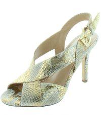 MICHAEL Michael Kors - Womens Becky Leather Metallic Dress Sandals - Lyst