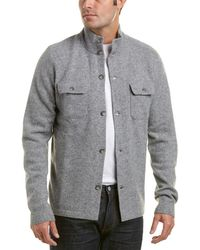 Michael Bastian - Gray Label Wool-blend Mock Neck Sweater - Lyst