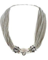 Lagos - Sterling Silver 18k Torsade Necklace - Lyst