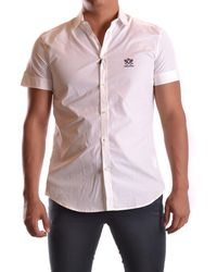 DSquared² - Men's Mcbi107199o White Cotton Shirt - Lyst