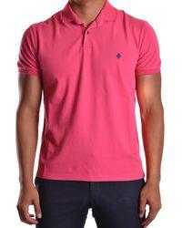 Ballantyne - Men's Mcbi032044o Pink Cotton Polo Shirt - Lyst