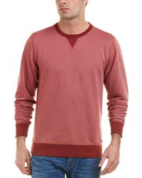 Faherty Brand - French Terry Crewneck Shirt - Lyst