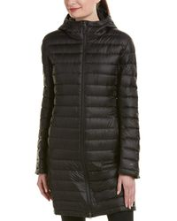 Patagonia - Womens Hooded Fiona Parka, L, Black - Lyst