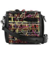 Alexander McQueen | Women's Multicolor Fabric Shoulder Bag | Lyst
