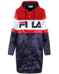 Fila - Women's Multicolour Cotton Jacket - Lyst