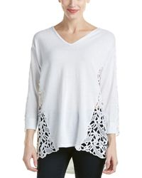 Magaschoni - Lace Pullover - Lyst