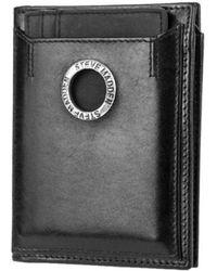 Steve Madden - Men's Grommet Glazed L- Fold Wallet - Lyst