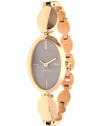 Esprit - Watch Allie Pink Gold Es108592003 - Lyst