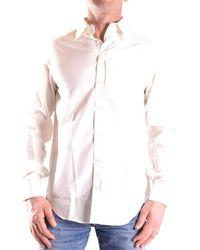 Armani - Men's Mcbi024166o White Polyester Shirt - Lyst