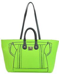V73 - Women's Green Polyamide Tote - Lyst