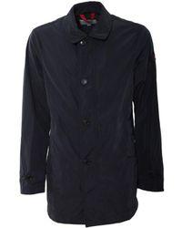 Peuterey | Men's Blue Polyester Coat | Lyst