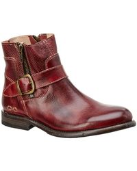 Bed Stu - Becca Leather Bootie - Lyst