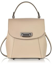Le Parmentier - Women's Pink Leather Backpack - Lyst
