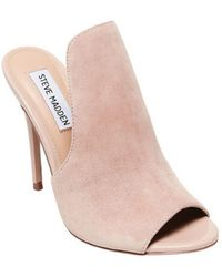 Steve Madden - Women's Sinful Heeled Slide - Lyst