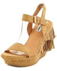 Not Rated - Womens Roaring Ruby Open Toe Casual Platform Sandals - Lyst