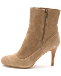 COACH - Womens Bethie Smith Almond Toe Ankle Fashion Boots - Lyst