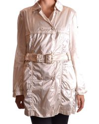 Geospirit - Women's Beige Polyamide Trench Coat - Lyst