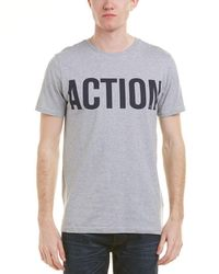 Knowledge Cotton Apparel - Knowledgecotton Action T-shirt - Lyst