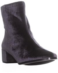 Chinese Laundry - Florentine Ankle Boots, Smoke Velvet - Lyst