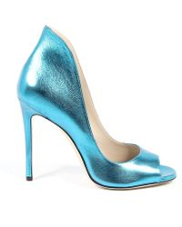 Andrew Charles by Andy Hilfiger - Andrew Charles Womens Pump Open Toe Light Blue Dafne - Lyst