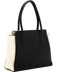 Susu - Jody Two Tone Leather Tote - Lyst