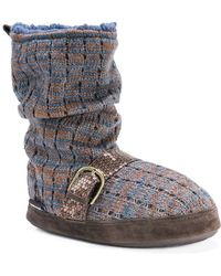 Muk Luks - Women's Lia Night Slipper - Lyst