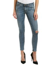 AG Jeans - The Middi Ankle 13 Years Resurrection Legging - Lyst