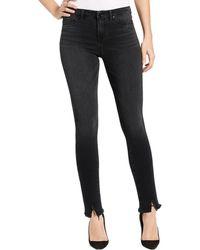 William Rast - Womens Raw Hem Skinny Skinny Jeans - Lyst