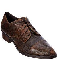 Donald J Pliner - Donald J Pliner Gea Leather Oxford - Lyst