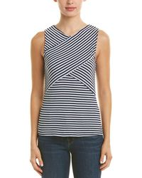 Three Dots - Crossover Top - Lyst