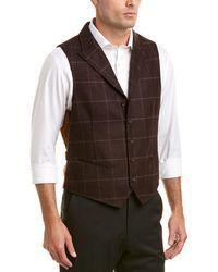Flynt - Powers Wool Vest - Lyst