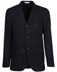 Boglioli - Men's N2902ebbp051r0790 Black Wool Blazer - Lyst