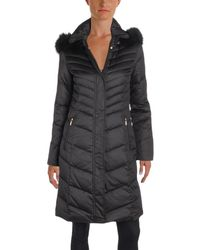 Ellen Tracy - Womens Quilted Down Parka Coat - Lyst