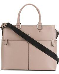 Vivienne Westwood - Men's 4305001540213c401 Pink Leather Briefcase - Lyst